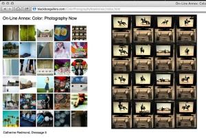 "Dressage 5, 2012, 22"" x 17"" on Baryta, Archival Digital Print"