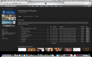 iTunes U from The Ruskin School of Art, Oxford University